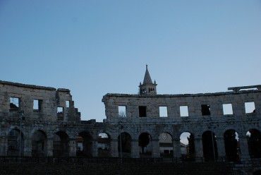 Pula, la ciudad imperfecta de la costa croata