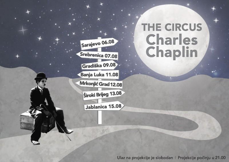 Chaplin recorre Bosnia-Herzegovina