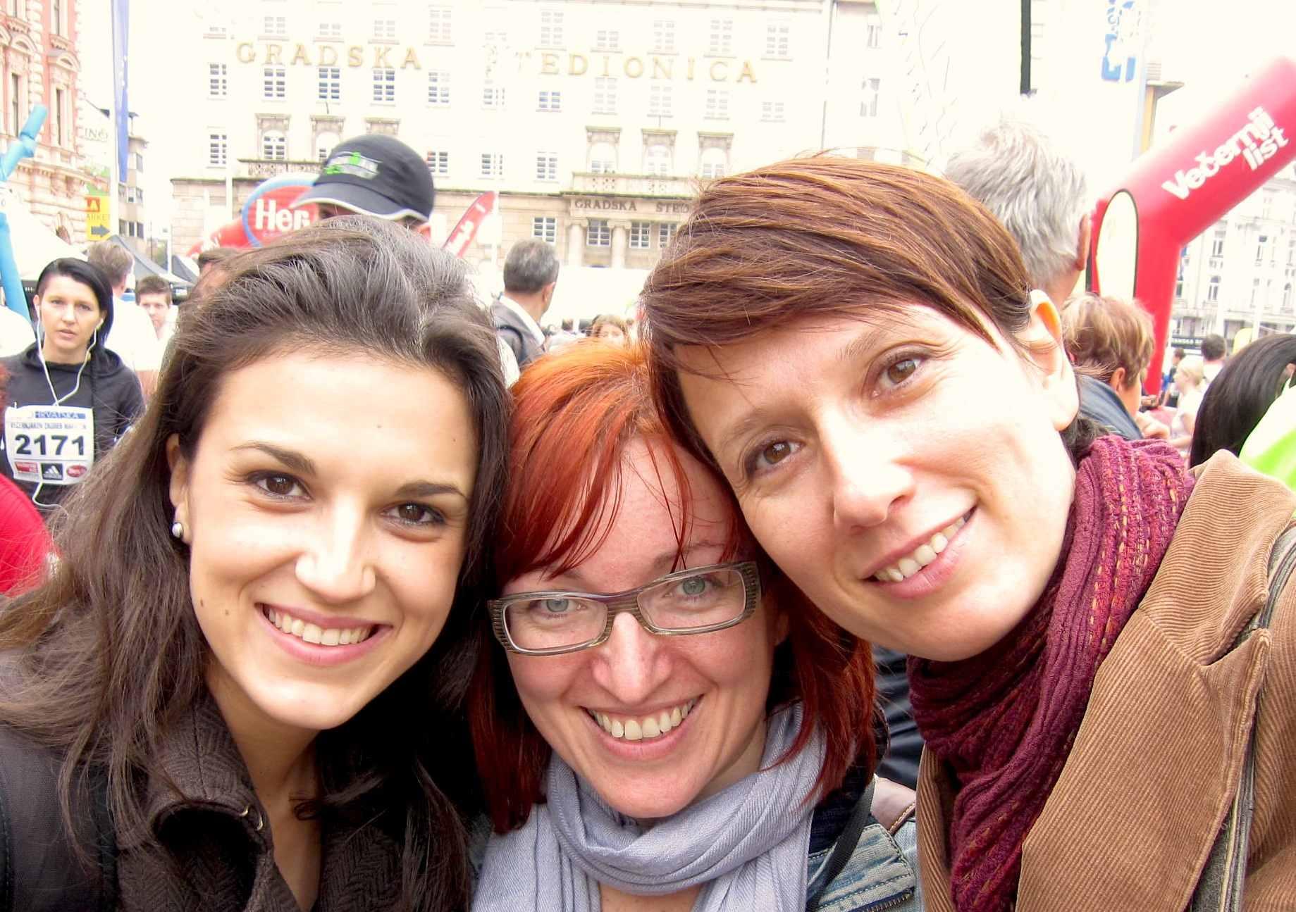 Natalija, Dragana y Beba